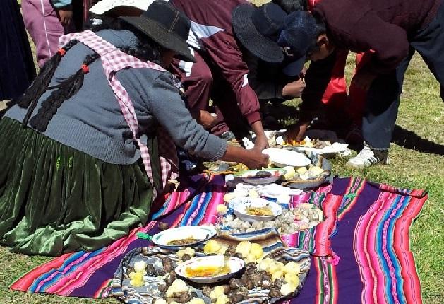Boliviansk måltid