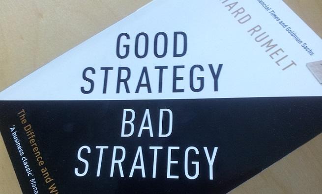 Strategibok